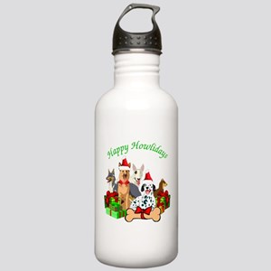 Howliday Dogs Water Bottle