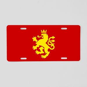 MACEDONIA Ethnic Flag Aluminum License Plate