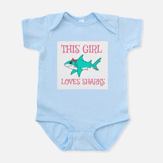 Shark Girl Body Suit
