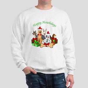 Howliday Dogs Sweatshirt