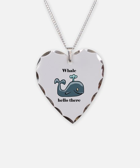 Whale Hello There Necklace