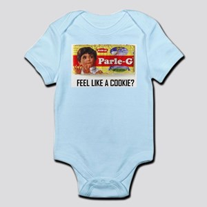 cookie time Baby Light Bodysuit