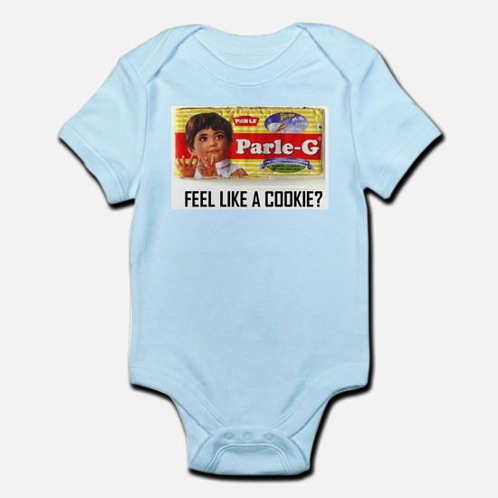 cookie time.PNG Baby Light Bodysuit