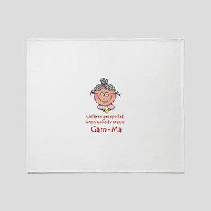Gam-Ma Throw Blanket