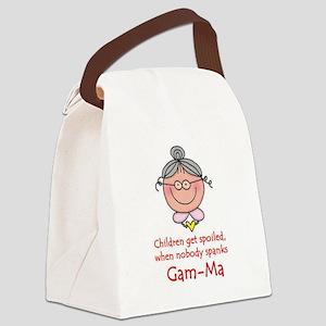 Gam-Ma Canvas Lunch Bag