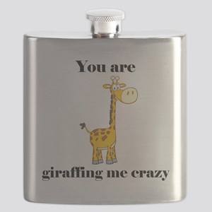 You're Griaffing Me Crazy Flask