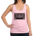 5-UNIBROW.PNG Racerback Tank Top