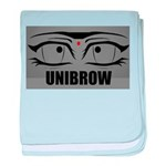 5-UNIBROW.PNG baby blanket