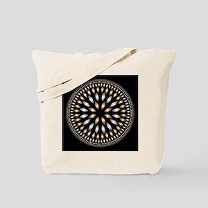 Hypnotic Circle Tote Bag