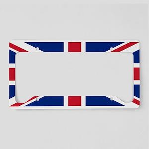 Gibraltar Governor Flag License Plate Holder