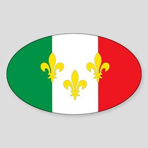 Italian French Design Sticker