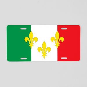 Italian French Design Aluminum License Plate