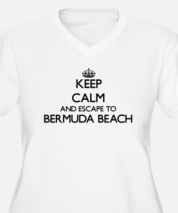 Keep calm and escape to Bermuda Plus Size T-Shirt