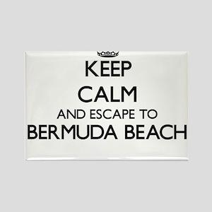 Keep calm and escape to Bermuda Beach Texa Magnets