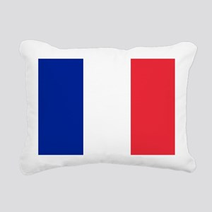 FRANCE FLAG Rectangular Canvas Pillow
