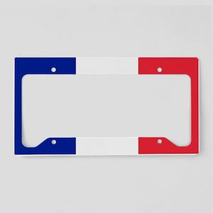FRANCE FLAG License Plate Holder