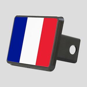 FRANCE FLAG Rectangular Hitch Cover