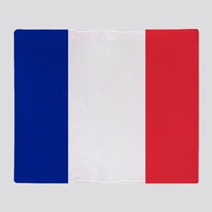 FRANCE FLAG Throw Blanket