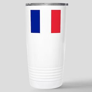 FRANCE FLAG Stainless Steel Travel Mug