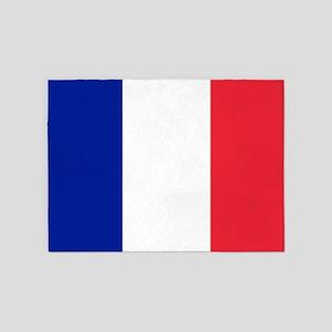 FRANCE FLAG 5'x7'Area Rug