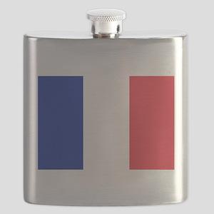 FRANCE FLAG Flask
