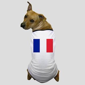 FRANCE FLAG Dog T-Shirt
