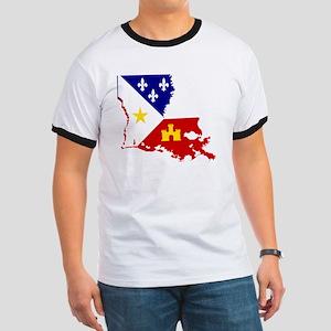 Acadiana State of Louisiana Ringer T