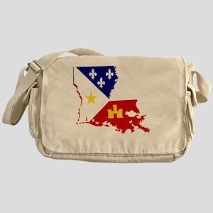 Acadiana State of Louisiana Messenger Bag