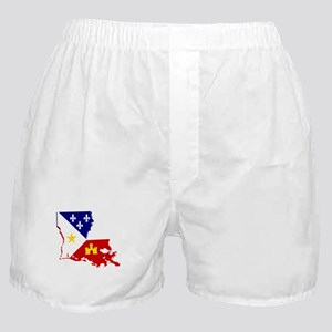 Acadiana State of Louisiana Boxer Shorts