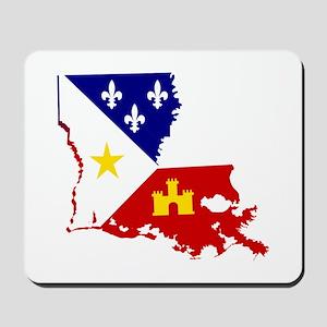 Acadiana State of Louisiana Mousepad
