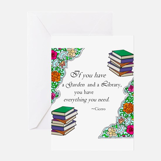 Funny Library Greeting Card
