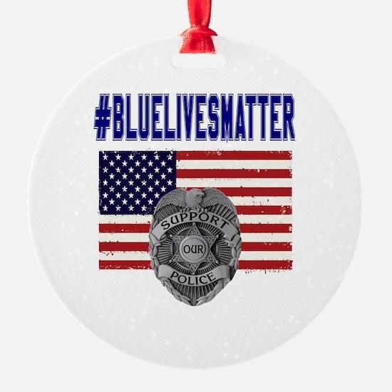 Cute Law enforcement Ornament