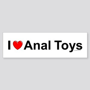 Anal Toys Sticker (Bumper)