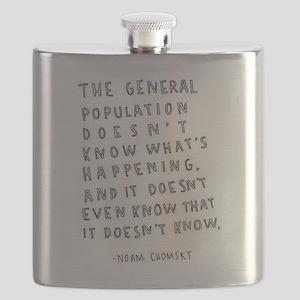 Noam Chomsky quote Flask
