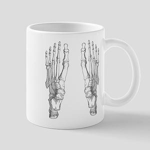 Foot Bones Mugs