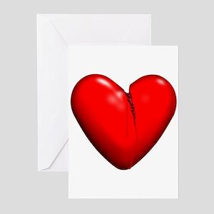 Broken Heart Greeting Cards (Pk of 10)