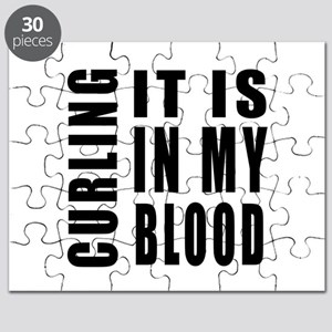 Curling it is in my blood Puzzle