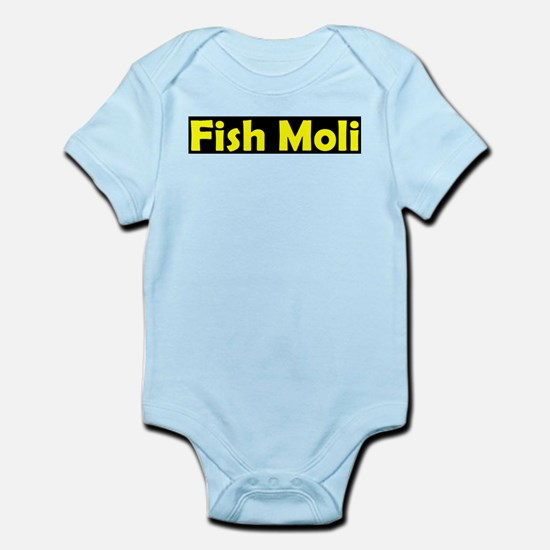 fish moli.JPG Baby Light Bodysuit