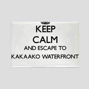Keep calm and escape to Kakaako Waterfront Magnets