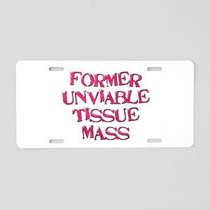 FUTM Aluminum License Plate