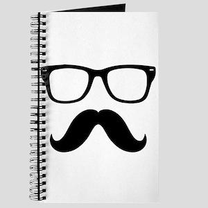 Mustache Face Journal