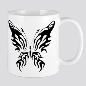 Black and White Butterfly Mugs