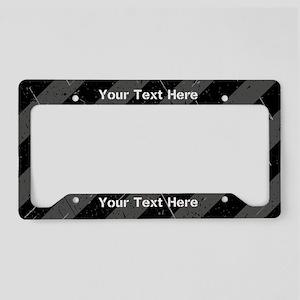 Custom Metallic License Plate Holder
