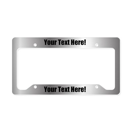 Custom Metal License Plate Holder  sc 1 st  CafePress & License Plate Frames - CafePress