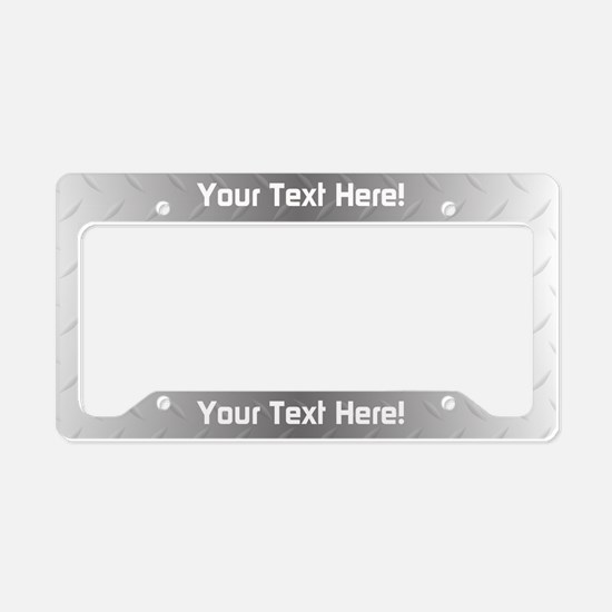 Custom Metal License Plate Holder