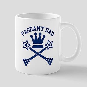 Pageant Dad Blue Mug Mugs