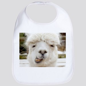 Funny Alpaca Smile Bib