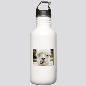 Funny Alpaca Smile Stainless Water Bottle 1.0L