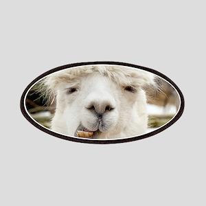 Funny Alpaca Smile Patch