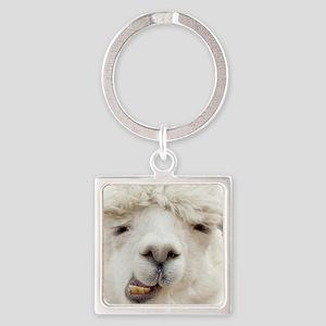 Funny Alpaca Smile Keychains